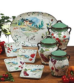 Certified International by Julie Paton Villa Dinnerware Collection