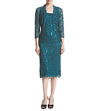 Alex Evenings® Two Piece Jacket Dress