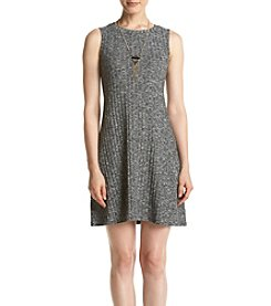 AGB® Printed Tank Shift Dress