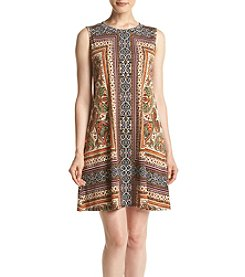 AGB® Print Shift Dress
