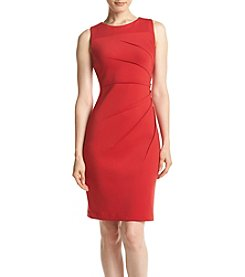 Calvin Klein Starburst Scuba Sheath Dress