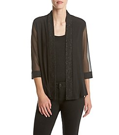 R&M Richards® Sheer Sleeve Shrug