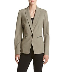 Nine West® One Button Jacket