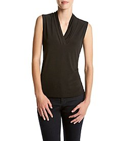 Anne Klein® V-Neck Shell Top