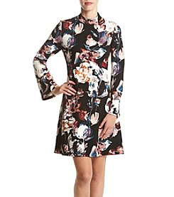 Ivanka Trump® Printed Novelty Dress