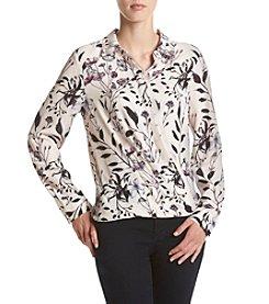 Ivanka Trump® Floral Georgette Blouse
