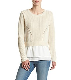 Ivanka Trump® Layered Sweater