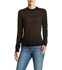 Ivanka Trump® Textured Sweater