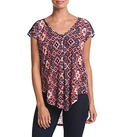 Lucky Brand® Insert Lace Top