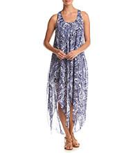 Cupio Printed V-Neck Dress