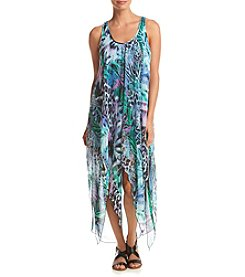 Cupio Printed V-Neck Dress