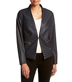 Jones New York® Zip Pocket Jacket