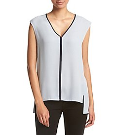 Jones New York Sleeveless V-Neck Top