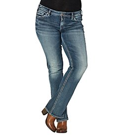 Silver Jeans Co. Plus Size Tuesday Mid Rise Bootcut Jeans