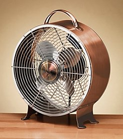 Deco Breeze Retro Metal Figurine Fan