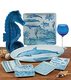 Certified International by Lisa Audit Sea Life Dinnerware Collection
