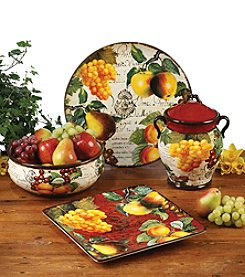 Certified International by Tre Sorelle Botanical Fruit Dinnerware Collection