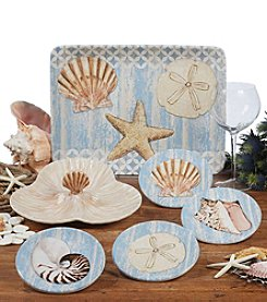 Certified International by Paul Brent Spa Shells Dinnerware Collection