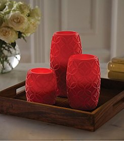 Order Home Collection® 3-pc. LED Red Vine Candles