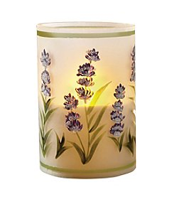 Order Home Collection® LED Glass Filled Lavender Candle