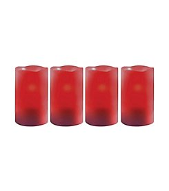 Order Home Collection® 4-pc. Red LED Candles