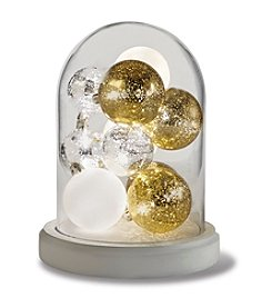 Order Home Collection® LED Cloche with Ornaments