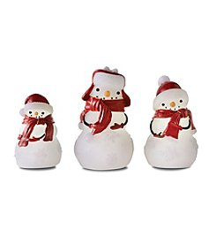 Order Home Collection® 3-pc. LED Wax Snowman