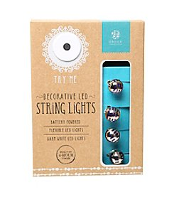 Order Home Collection® 10' Striped Ball LED String Lights