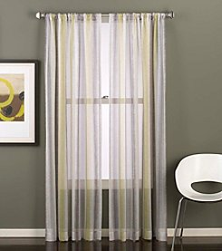 CHF Groove Sheer Window Curtain