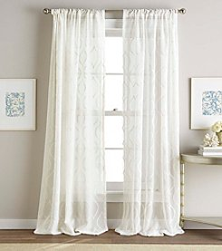 CHF Hourglass Embroidery Sheer Window Curtain