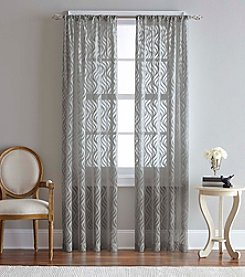 CHF Luxe Long Pleated Window Curtain