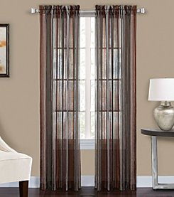 CHF Percy Striped Sheer Window Curtain