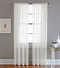 CHF Pintuck Sheer Window Curtain