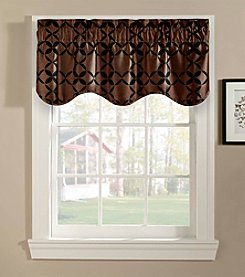CHF Spiral Scalloped Valance