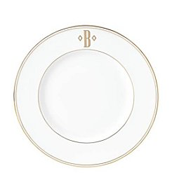Lenox® Federal Gold Monogram Block Accent Plate