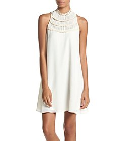 My Michelle® Sleeveless High Neck Dress