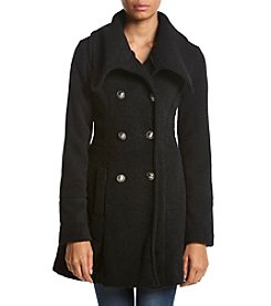 A. Byer Double Breasted Boiled Wool Jacket