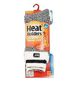 Heat Holders® Men's Block Twist Thermal Socks