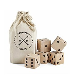 Black Series Jumbo Wooden Dice Game