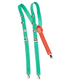 Wembley® Men's Jingle Bell Suspenders