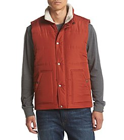 Ruff Hewn Men's Solid Sherpa Lined Puffer Vest