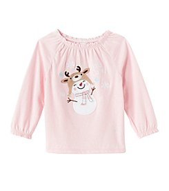Mix & Match Baby Girls' Snow Cute! Peasant Top
