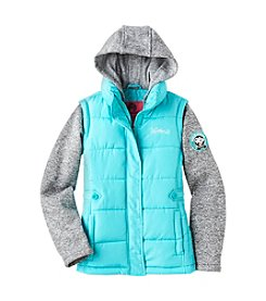 Weatherproof® Girls' 7-16 Hooded Puffer Vest Jacket