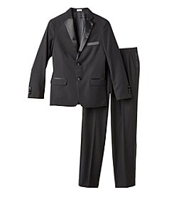 Calvin Klein Boys' 8-20 2-Piece Tuxedo Suit Set