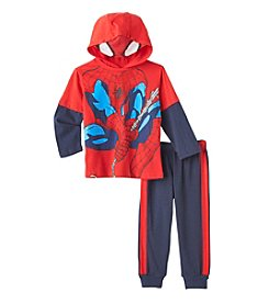 Spider-Man® Boys' 2T-4T 2-Piece Hooded Tee And Joggers Set