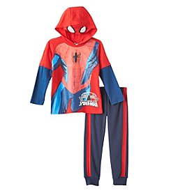 Spider-Man® Boys' 4-7 2-Piece Hooded Tee And Joggers Set