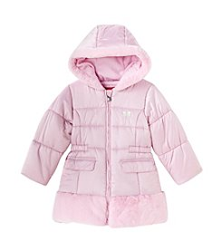 London Fog® Girls' 4-6X Marshmallow Fluff Parka