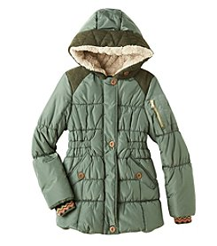 Jessica Simpson Girls' 7-16 Expedition Coat