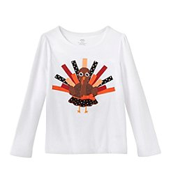Mix & Match Girls' 2T-6X Long Sleeve Turkey Tee