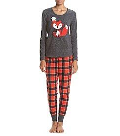 PJ Couture® Animal Pajama And Mask Set